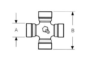Kreuzgarnitur